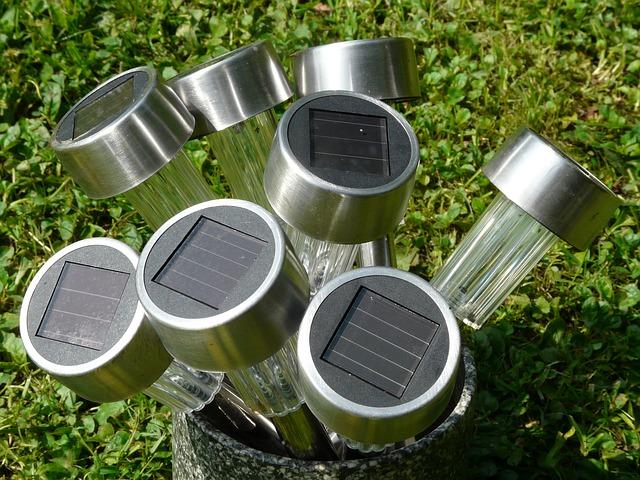 solární lampičky
