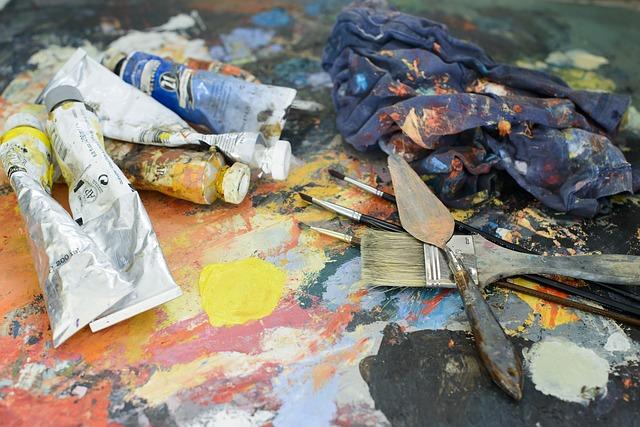 malířské pomůcky