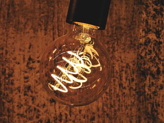 spirála v žárovce